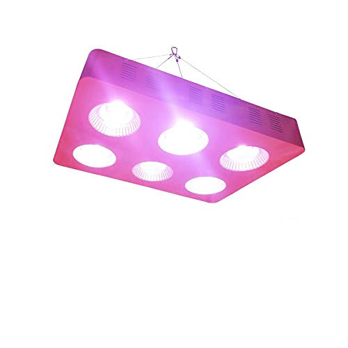 Anjeet 1200W COB LED Grow Light Full Spectrum Plant Growing Lights for Hydroponic Indoor Greenhouse Garden Plants Veg and Flower (1200W-B)