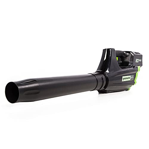 Greenworks Pro 80V 125 MPH - 500CFM Cordless Blower, Tool Only, GBL80320