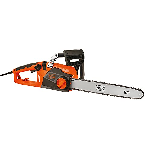 BLACK+DECKER Electric Chainsaw, 18-Inch, 15-Amp, Corded (CS1518)