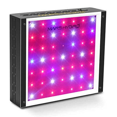 MarsHydro LED Grow Light 300W Full Spectrum for Hydroponic Indoor Plants Growing Veg and Flower Daisy Chain ECO 300W