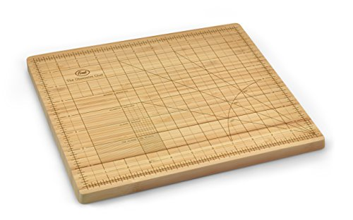 Genuine Fred The Obsessive Chef Bamboo Cutting Board, 9-inch by 12-inch