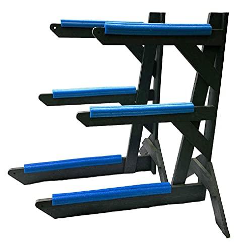 Storage Rack Solutions Outdoor or Indoor Kayak Rack, Canoe Rack or SUP Rack – Rack in a Box