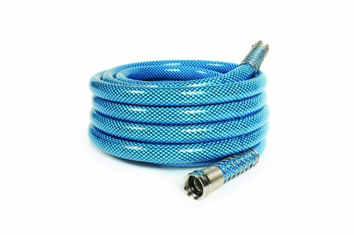 Camco 25 Feet 25ft Premium Drinking Water Lead and BPA Free, Anti-Kink Design, 20% Thicker Than Standard Hoses 5/8' Inside Diameter (22833) , White