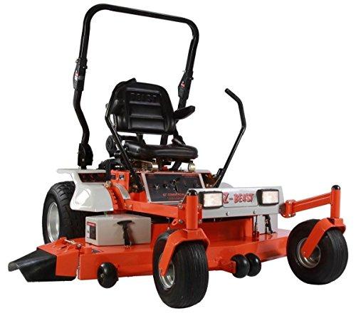 "Z-BEAST 62ZBBM18 62"" 25 HP Zero Turn Commercial Mower, Orange"