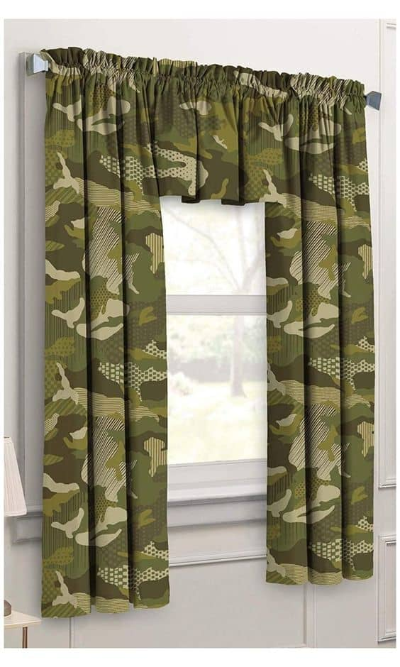 24 masculine curtains designs ideas 10