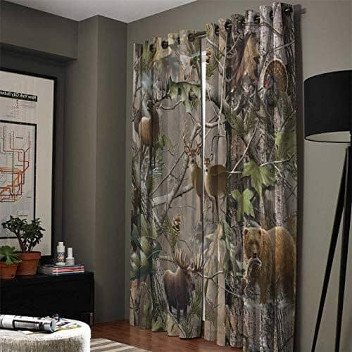 24 masculine curtains designs ideas 11
