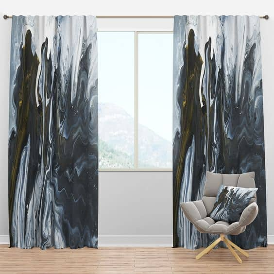 24 masculine curtains designs ideas 2