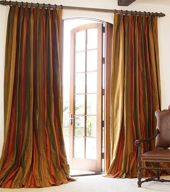 24 masculine curtains designs ideas 20